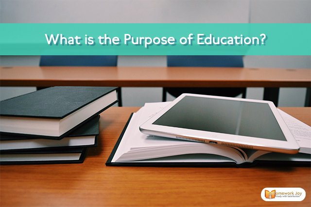 What is the Purpose of Education(blog)