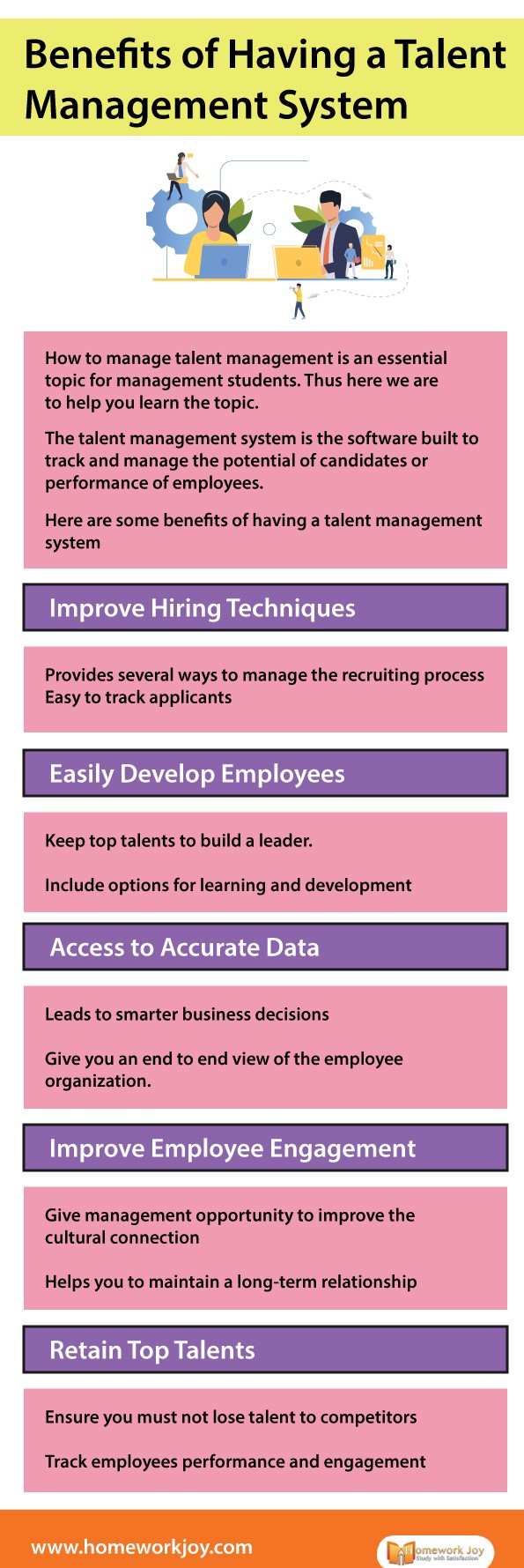Benefits of Having a Talent Management System