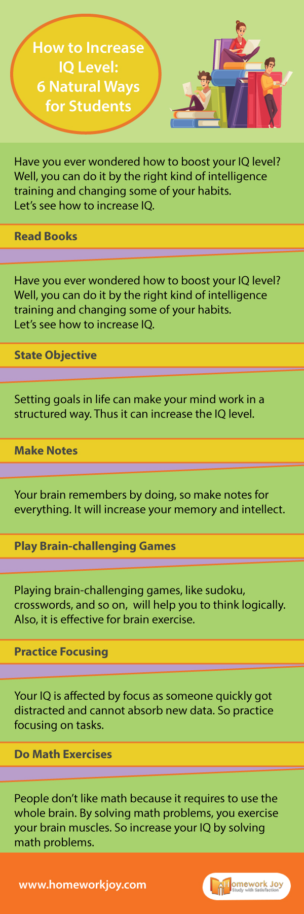 How to Increase IQ Level 7 Natural Ways for Students
