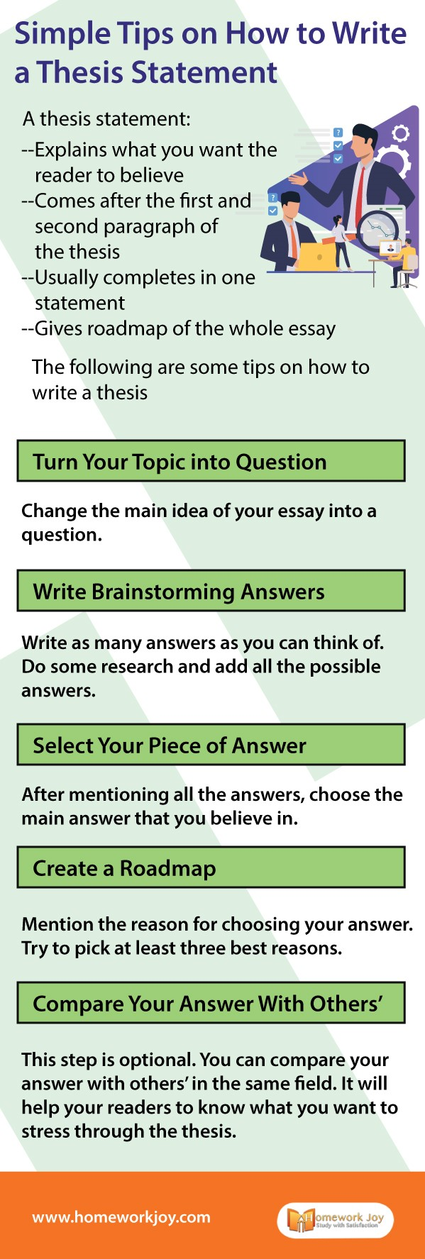 Simple Tips on How to Write a Thesis Statement