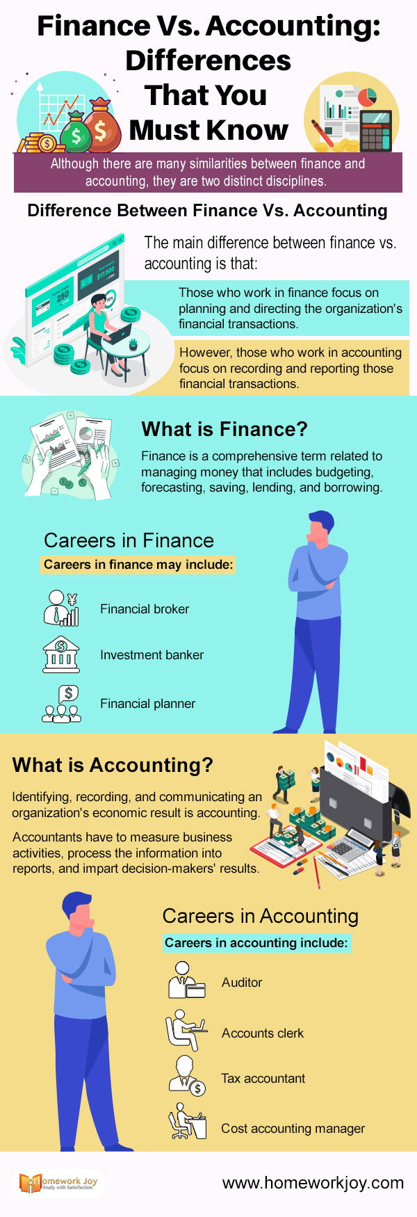 Finance Vs. Accounting Differences That You Must Know